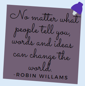 Robin quote note